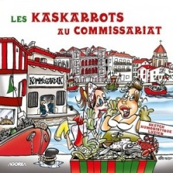 Les Kaskarrots - Au commissariat - CD