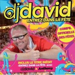Dj David - ENTREZ DANS LA FETE - CD