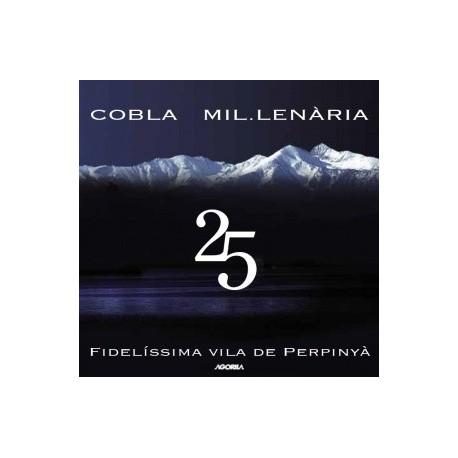 Cobla Mil.Lenària - 25 ans - CD