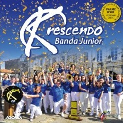 Krescendo Banda Junior - Palme d'or junior 2015 - CD