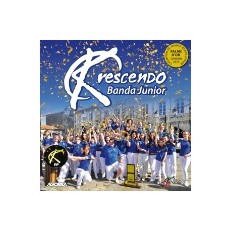 Krescendo Banda Junior - Palme d'or junior 2015 - CD