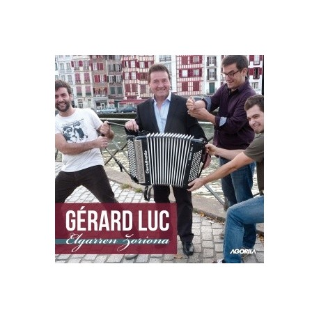 Gérard Luc - Elgarren Zoriona - CD