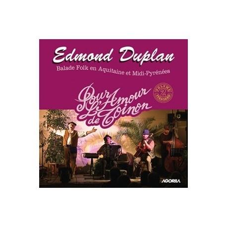 Edmond Duplan - Pour l'amour de Toinon - CD
