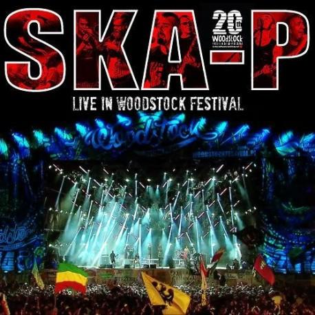 SKA-P - Live in Woodstock Festival (CD + DVD) - CD