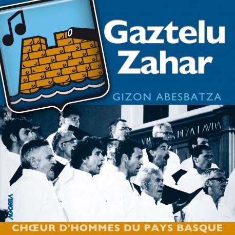 Gaztelu Zahar - Gizon Abesbatza - CD