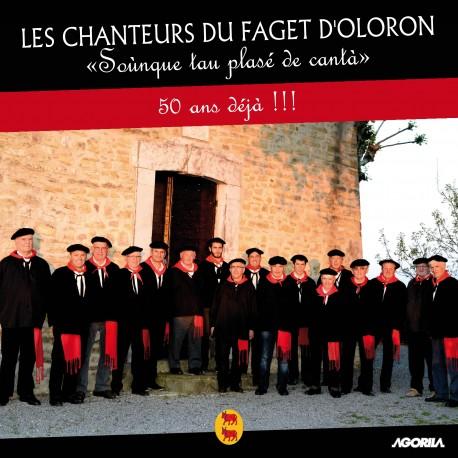 """Les Chanteurs du Faget d' Oloron - """"Sounque tau plasé de cantà""""- CD"""
