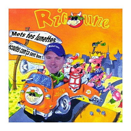 Ricoune - Mets tes lunettes - CD