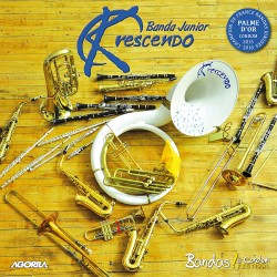 Kcrescendo Banda junior - Champion de France 2016 - CD