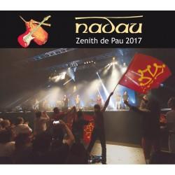 Nadau - Live Zénith de Pau 2017 - CD