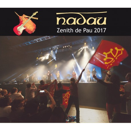 Nadau - Live Zénith de Pau 2017 -CD