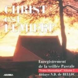 Moines de Belloc - Christ est Lumière - CD