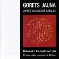 Moines de Belloc - Gorets Jauna - CD
