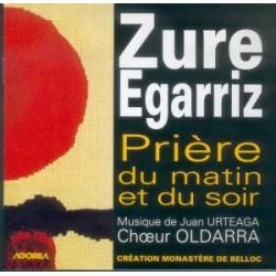 Moines de Belloc - Zure Egarriz - CD
