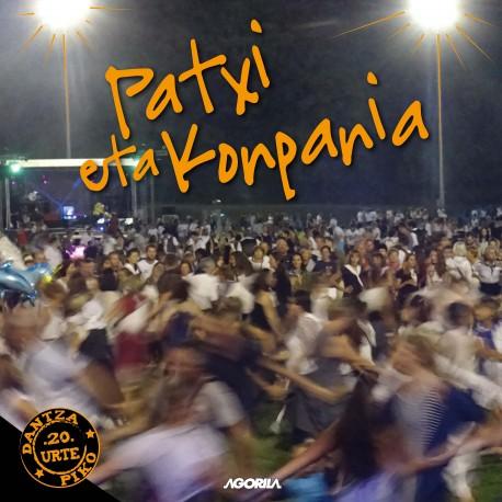 Patxi eta Konpania - Dantza piko 20 urte - CD
