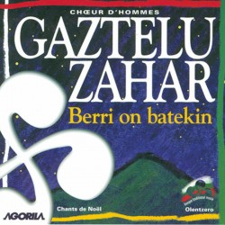 Gaztelu Zahar - Berri on batekin - CD