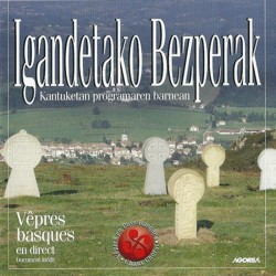 Vêpres basques - Igandetako Bezperak - CD