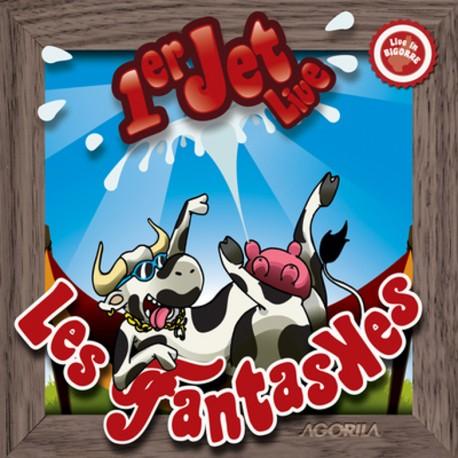 Les Fantaskes - 1er Jet Live - CD