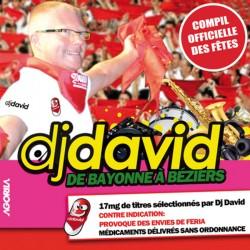 Dj David - De Bayonne à Béziers - CD