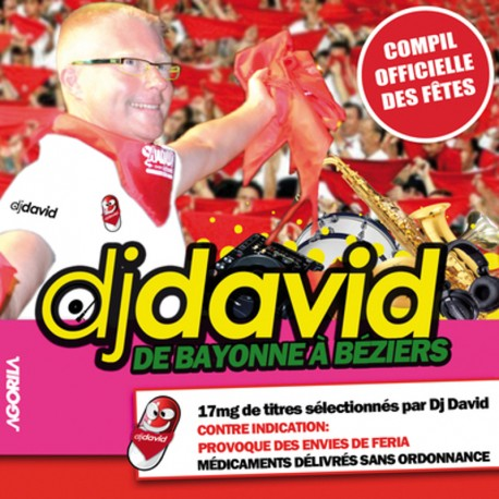 Dj David - De Bayonne à Béziers - CD