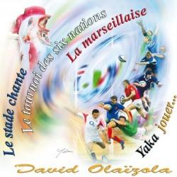 David Olaizola - Le stade chante - CD