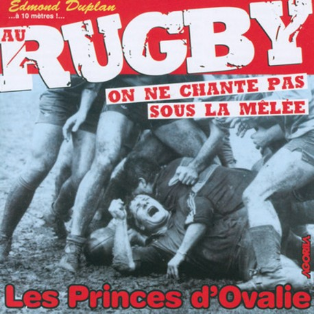 Edmond Duplan - Au rugby - CD