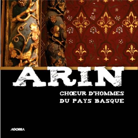 Arin - CHOEUR D'HOMMES DU PAYS BASQUE - CD
