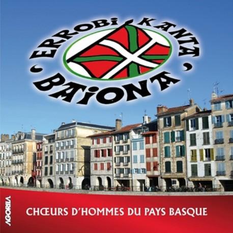 Errobi Kanta - BAIONA - CD