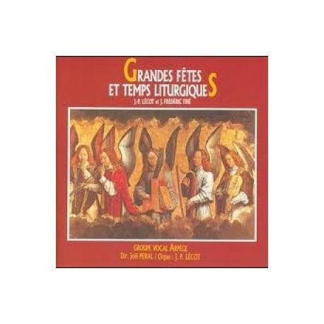 Groupe Vocal Arpège - Grandes fêtes et temps liturgiques - CD