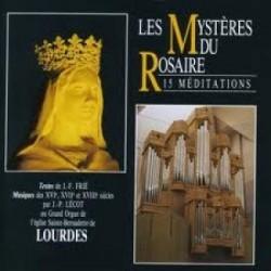 Jean Paul Lécot - Les mystères du rosaire - CD