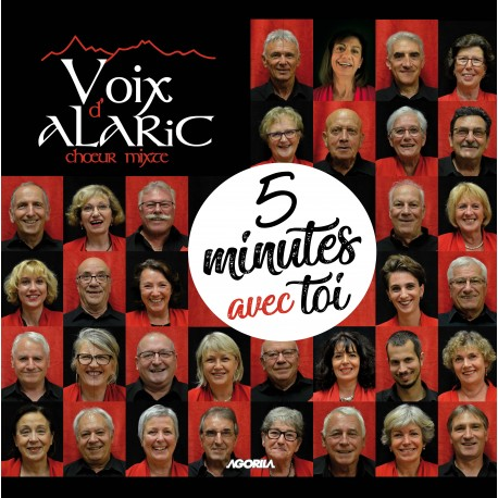 Voix d' Alaric - 5 minutes avec toi - CD