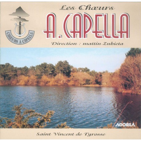 A. Capella - Saint Vincent de Tyrosse - CD