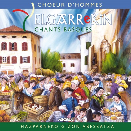 Elgarrekin - Chants Basques - CD