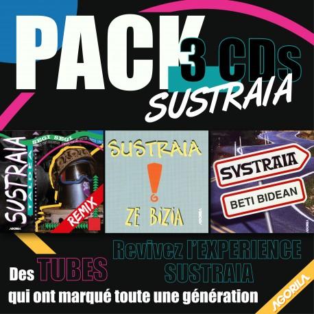 SUSTRAIA - PACK 3 CD - COFFRET