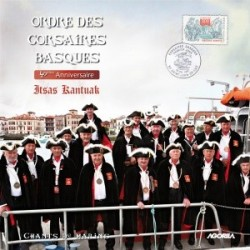 Ordre des Corsaires Basques - 40ème anniversaire Itsas Kantuak - CD