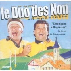 Duo des Non - Chroniques villageoises - CD
