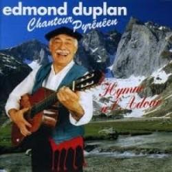 Edmond Duplan - Hymne à l'Adour - CD