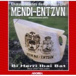 Entzun/Mendi - Bi Herri Ibai Bat - CD