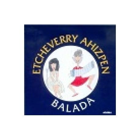 Etcheverry Ahizpak Balada - Etcheverry Ahizpen Balada - CD