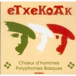 Etxekoak - Chœurs d'Hommes - CD