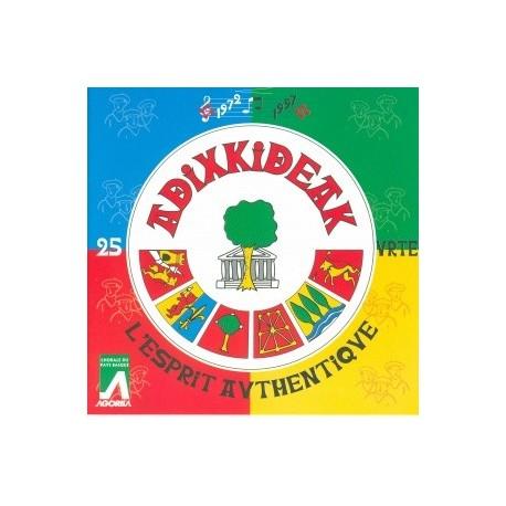 Adixkideak - L'Esprit Authentique - CD