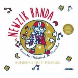 Newzik Banda - Newzik Banda / instruments à vent et percussions - CD