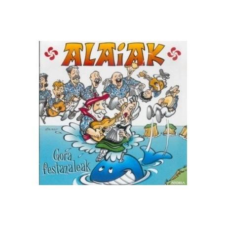 Alaiak - Gora Festazaleak - CD