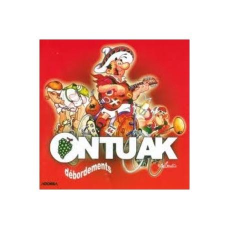 Ontuak - Débordements - CD
