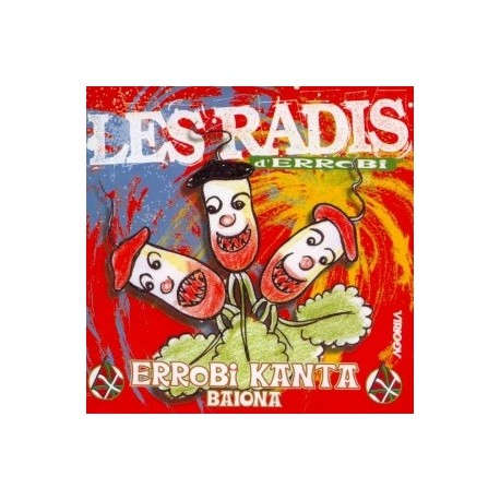 Errobi Kanta - Les Radis - CD