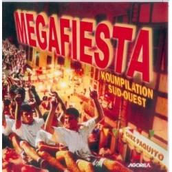 Megafiesta - Megafiesta Koumpilation Sud-Ouest - CD