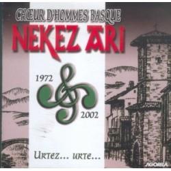 Nekez Ari - Urtez, urte - CD
