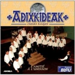 Adixkideak - L'amitié à l'unisson - CD
