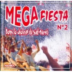 Megafiesta - Dans la chaleur du Sud-Ouest - CD