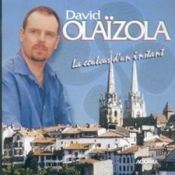 David Olaizola - La couleur d'un instant - CD