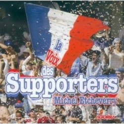 Michel Etcheverry - La voix des supporters - CD